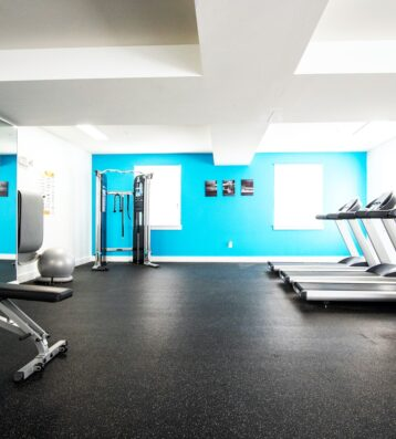 Central view of Eleanor's Gym